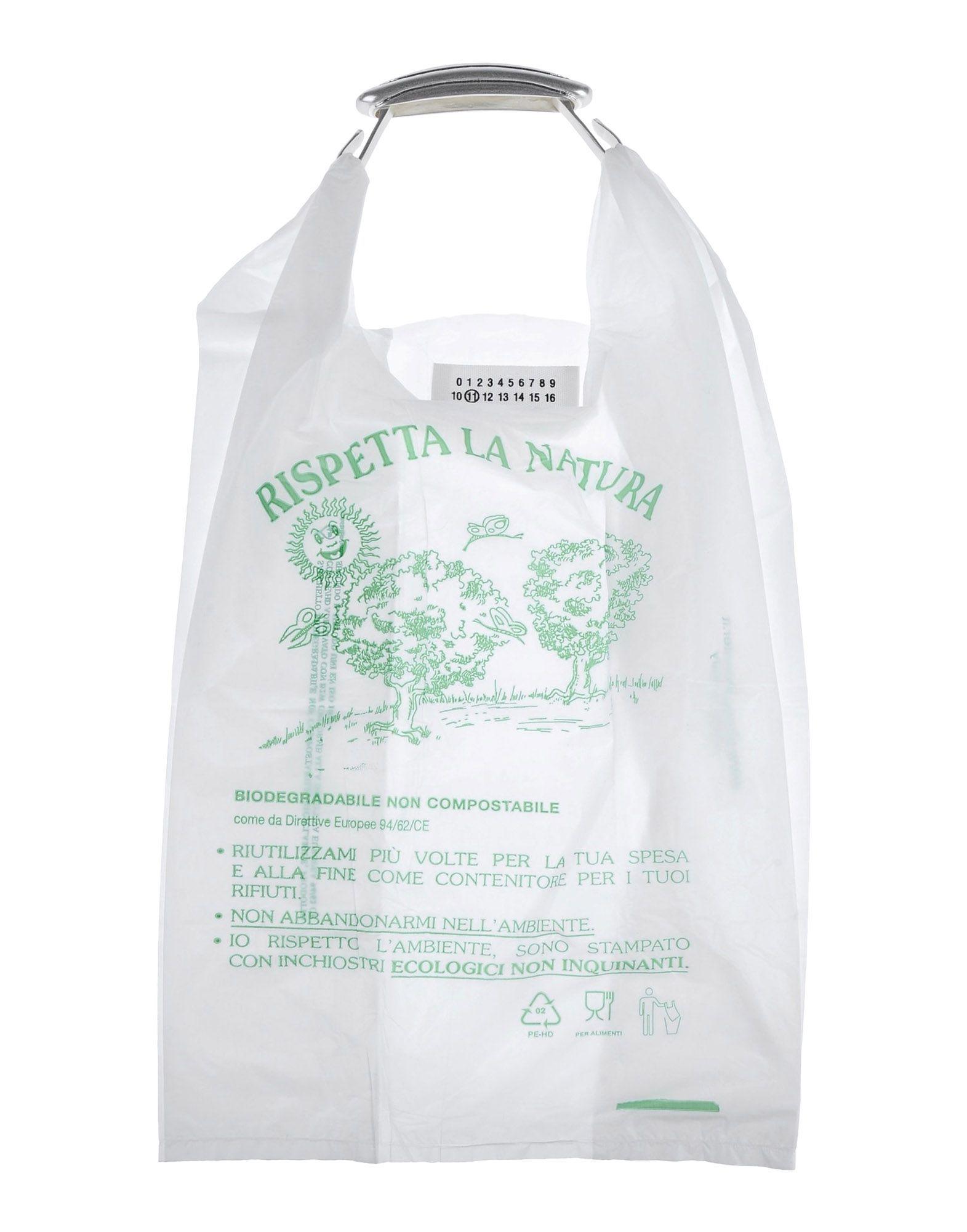 16c5134373df Margiela plastic bag