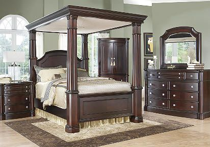canopy bedroom sets king bedroom sets