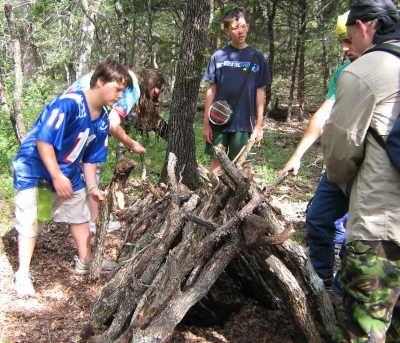 Camp Tonkawa - Primitive Survival Skills Camps Our Primitive