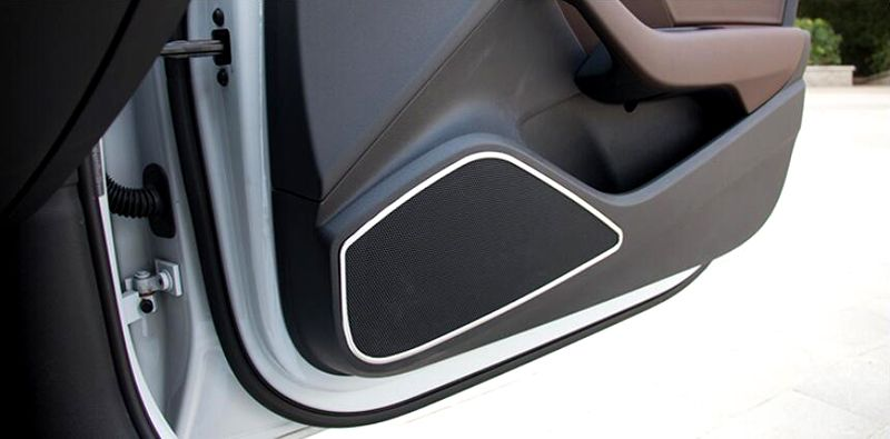 Door Speaker Sound Cover Trim 4pcs For Audi A3 8V 2012 2013