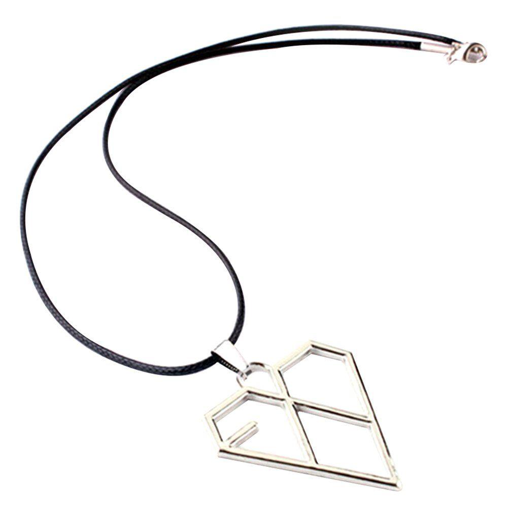 Ahlsenl exo kpop necklace pendant accessories merch titanium steel