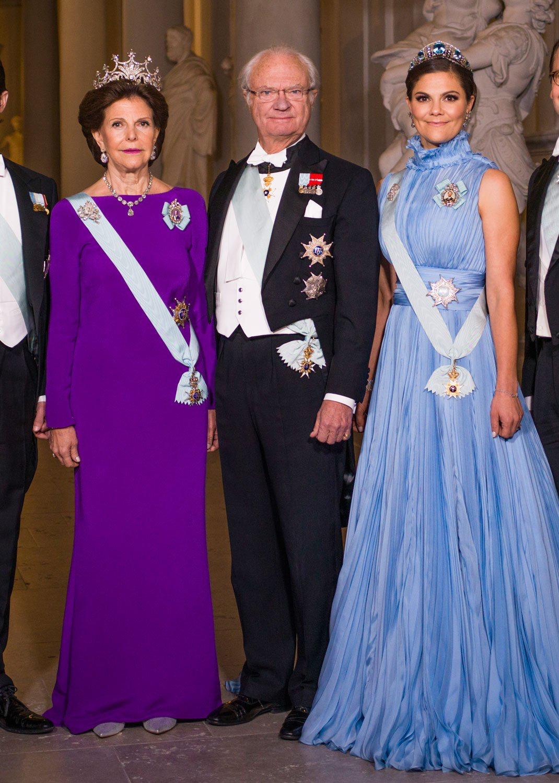 Znalezione obrazy dla zapytania queen silvia nobel prize 2017 pinterest