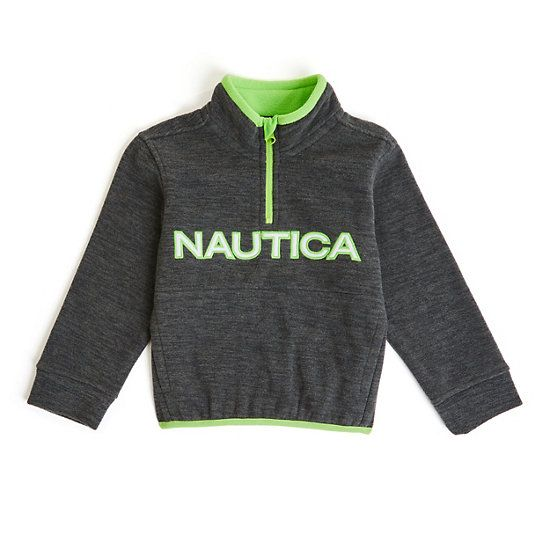 Quiksilver Toddler Boys 2T Gray Heather Hooded Sweatshirt Warm Winter Logo