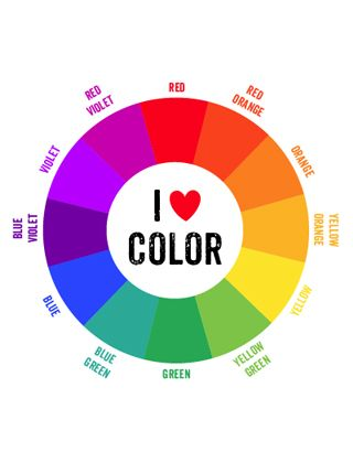 Free Printable Color Wheels In Color Or In Black White For Kids