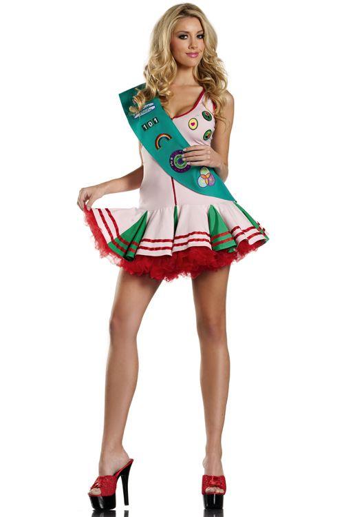 sexy Pfadfinderin Halloween Kostüm