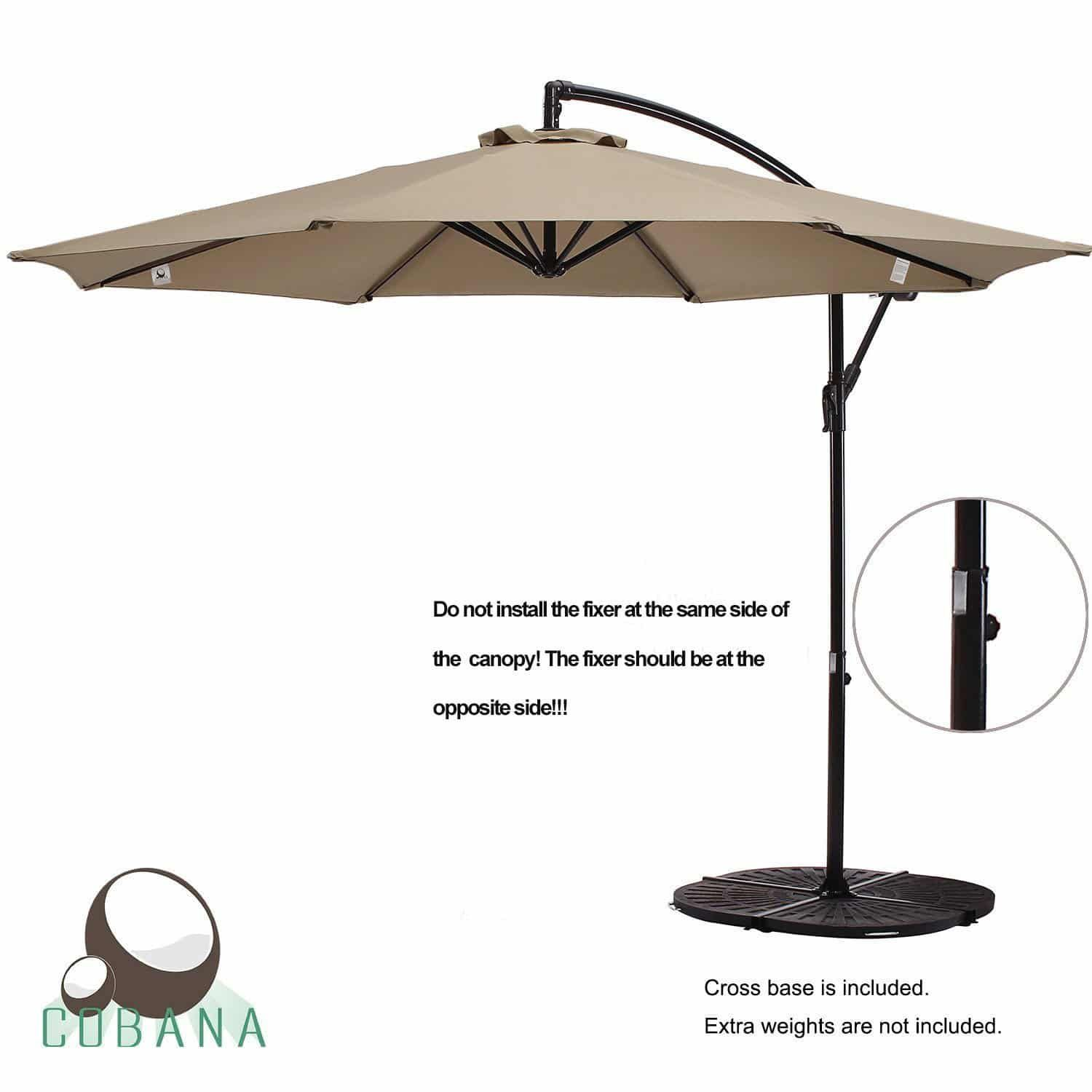 Top 15 Best Offset Patio Umbrellas In 2020 Reviews Offset Patio Umbrella Patio Umbrellas Patio Umbrella