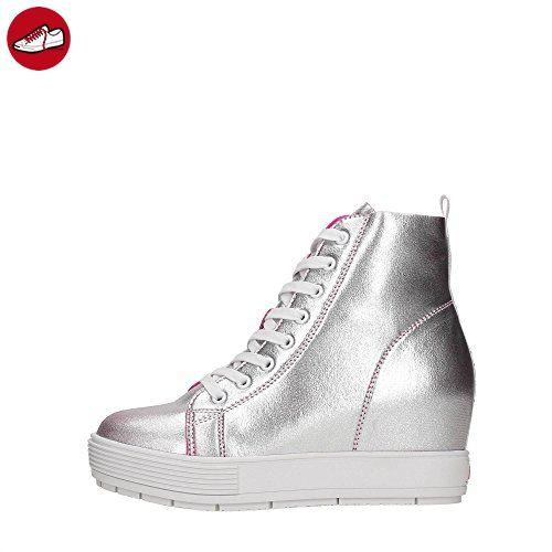 7ef71519cb14ed Fornarina PE17MJ9543I090 Sneakers Damen Silber 40 ( Partner-Link ...