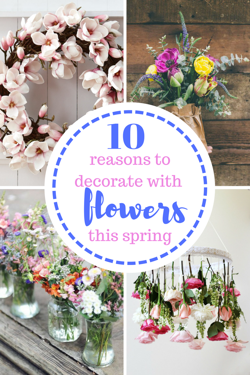 Flowers, Spring, Decorating With Flowers, How To Decorate With Flowers,  Spring,
