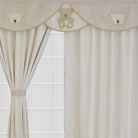 Cortinas para dormitorios de bebe en 2019 cortinas for Cortinas vintage dormitorio