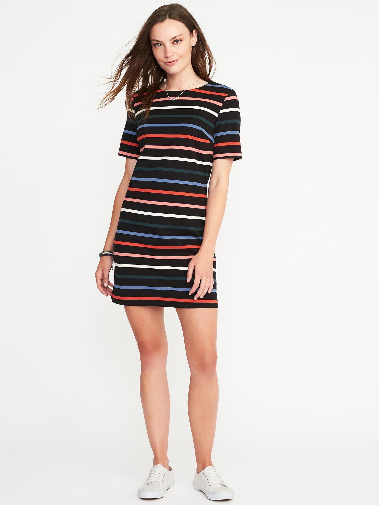 23ee7b6730cc0 Ponte-Knit Shift Dress for Women | Old Navy | best dressed | Dresses ...