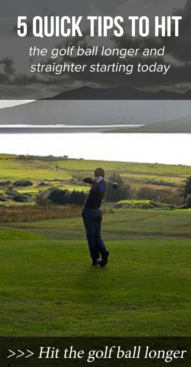 Golf driver tips 10 more yards in 10 minutes how to