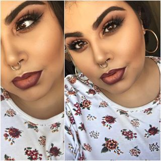 It's different from a summery glow: It's a warm glow. | 19 Absolutely Stunning Make-Up Looks To Try This Autumn