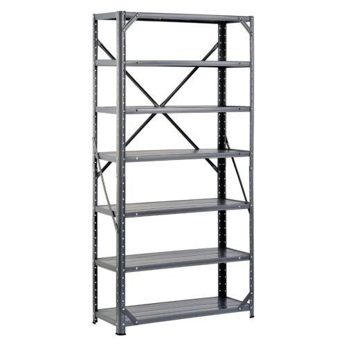 Steel shelving unit heavy duty metal storage shelves