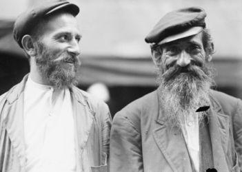 Early 1900s Photo Orthodox Jews Vintage Black White Photograph F7 | eBay