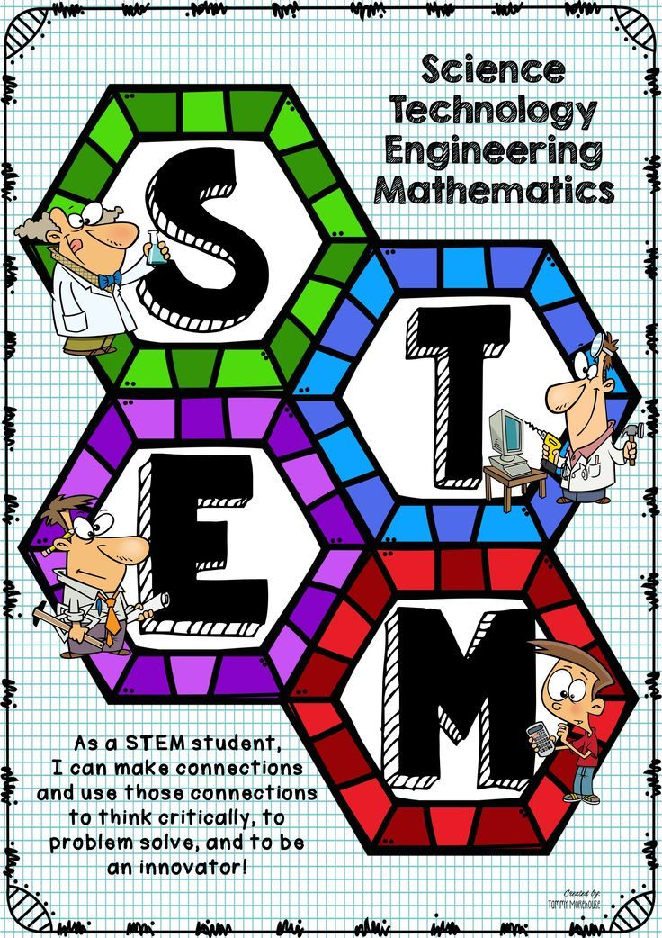 Design Classroom Posters : Stem poster hexagon pattern math classroom and