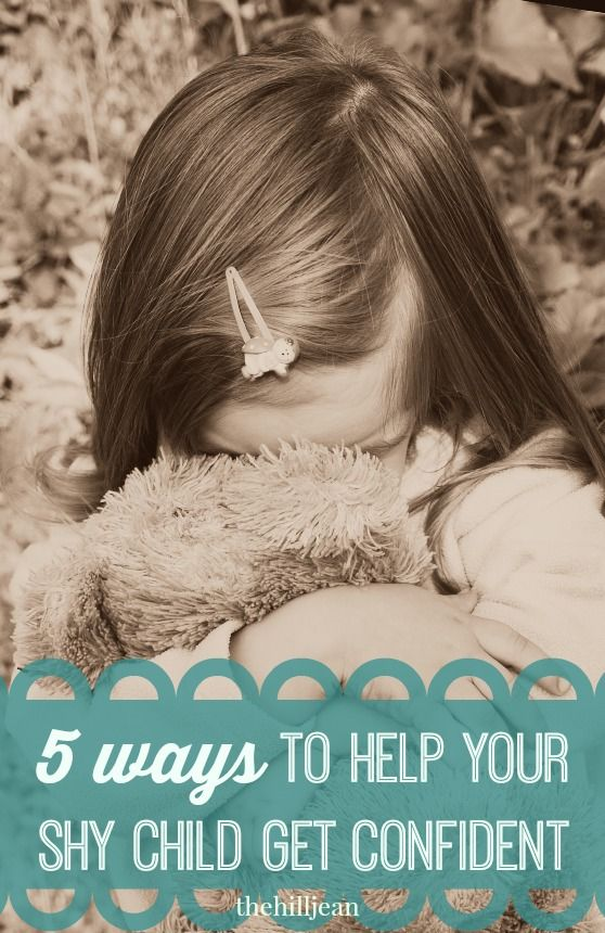 how to help your child with shyness