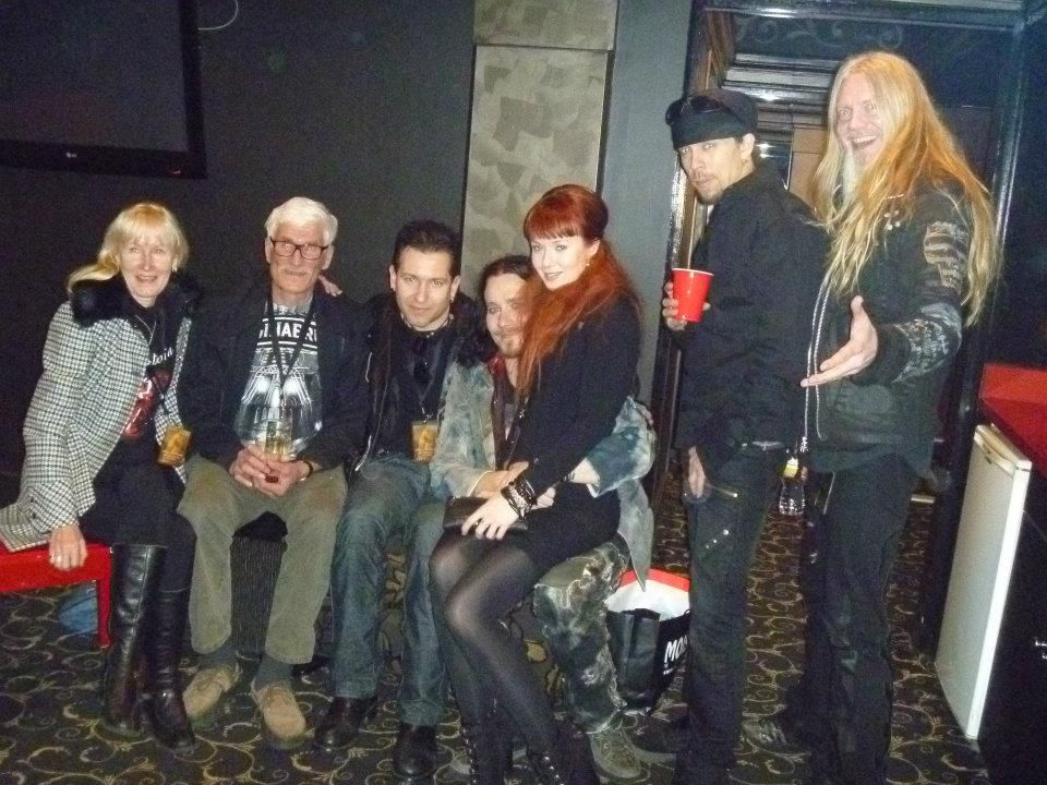(Left to right) Tuomas' mother, Tuomas' father, Tuomas's ...