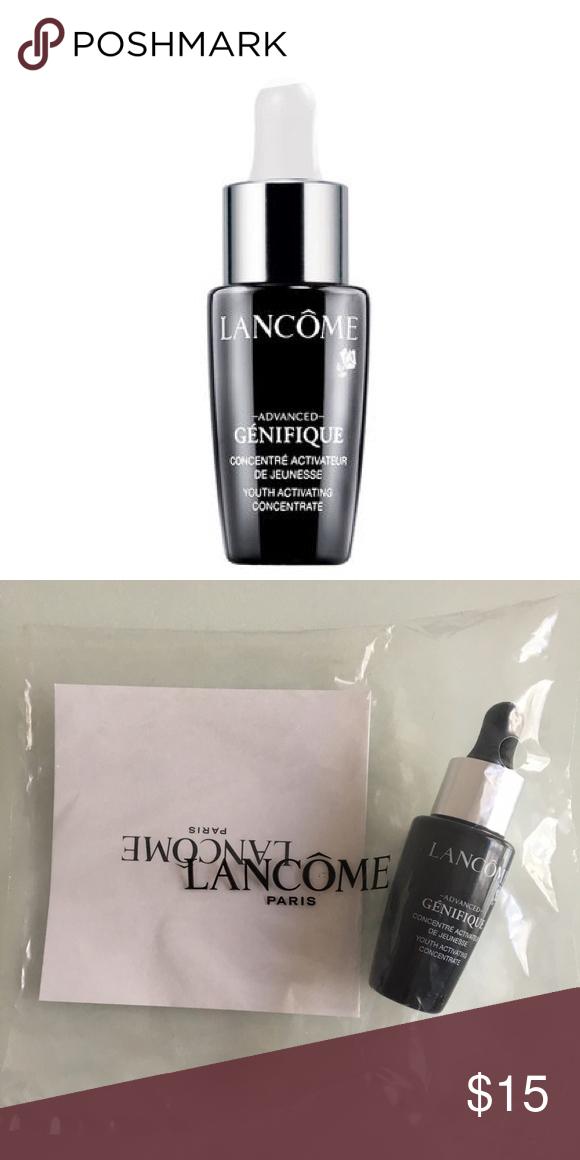 Lancôme Advanced Genifique Mini Deluxe mini size of Lancome's Advanced Genifique serum. The full size retails for $78 Lancome Makeup Foundation