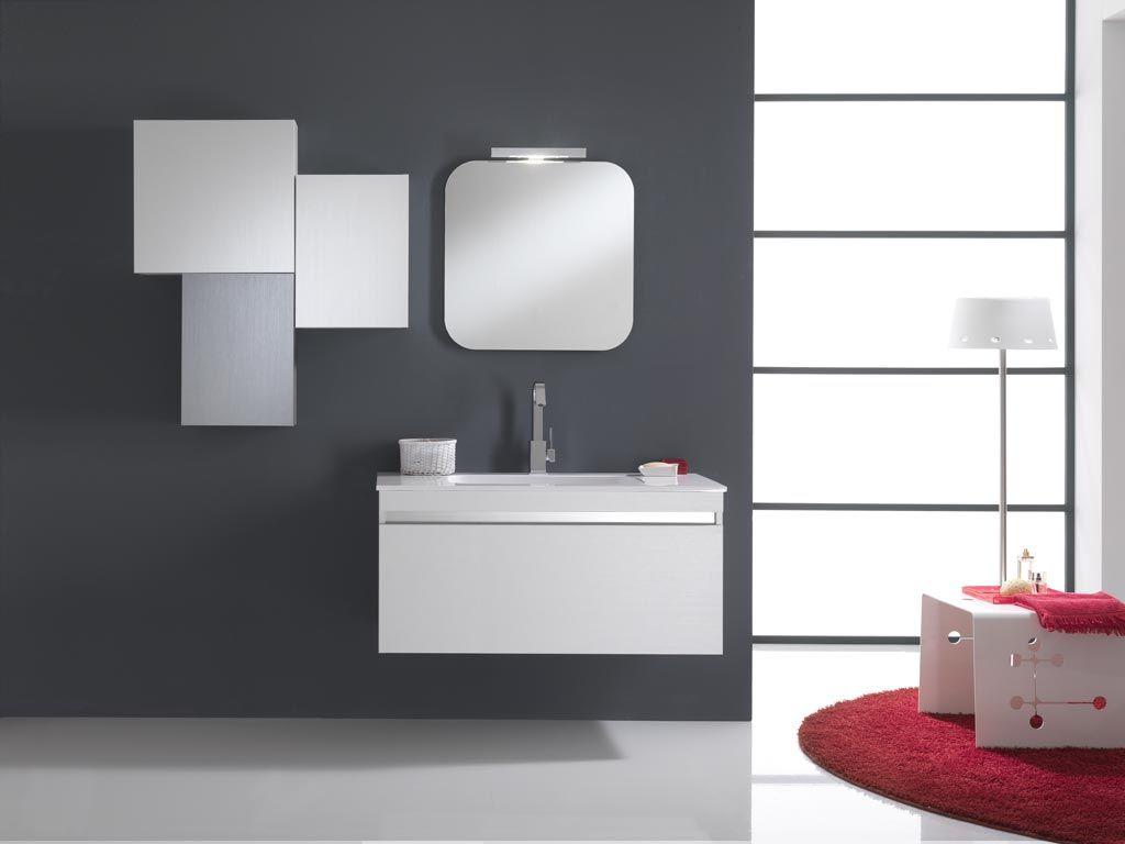 Mobile bagno bali mix misure l 80 80 cm mobili bagno moderni contemporary - Mobile bagno misure ...