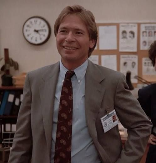 John Denver At The Office In A Movie Role.