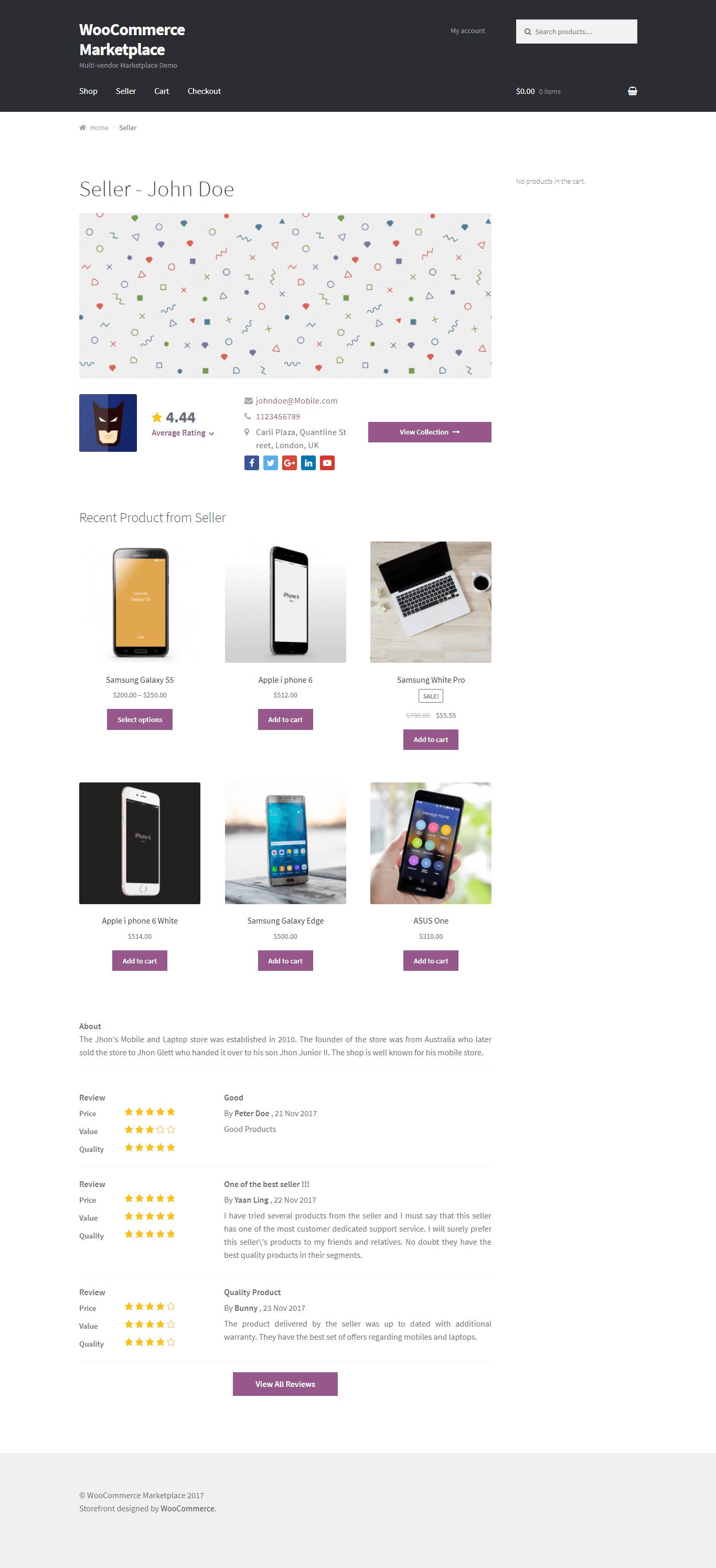 WordPress Multi Vendor Marketplace Plugin