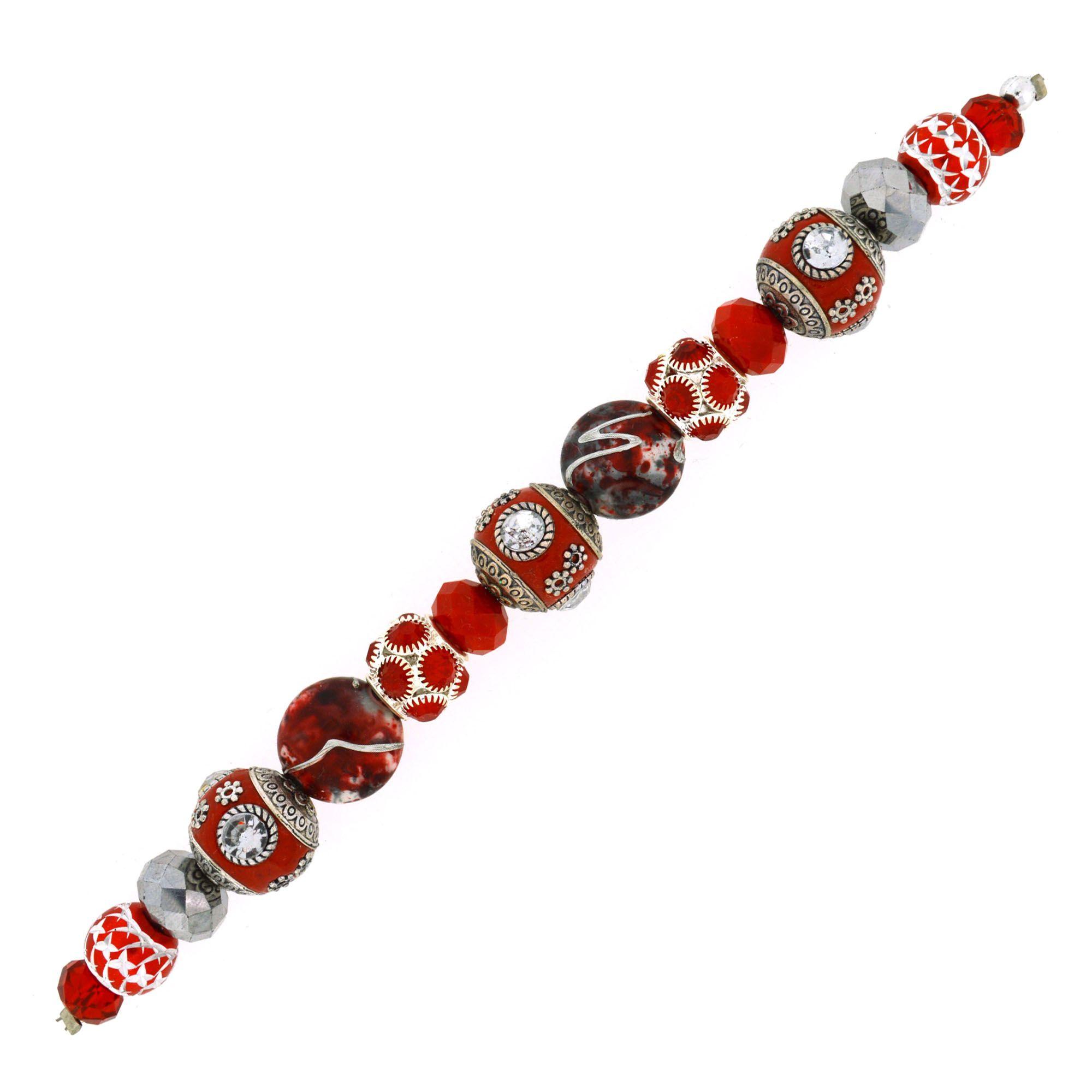 Aurora red boho pantone strand christmas colors red