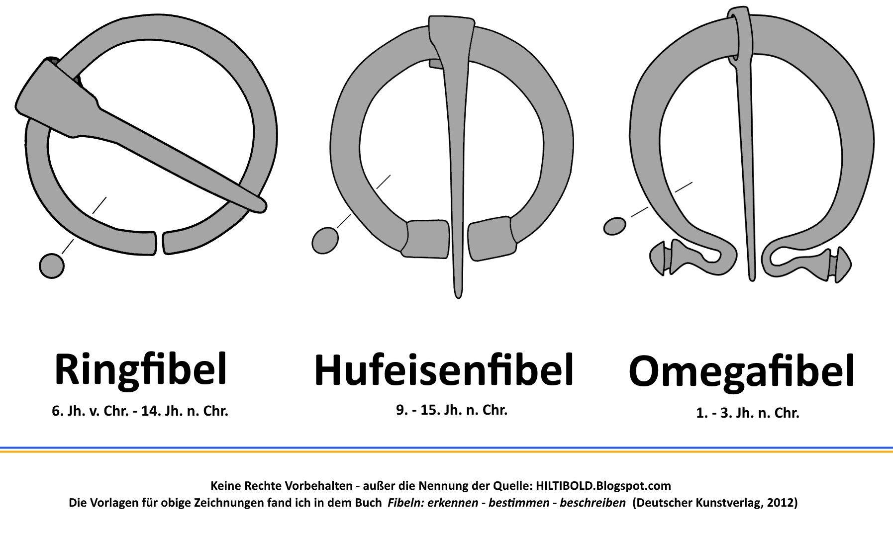 Drei Fibeln -- Three Fibulas