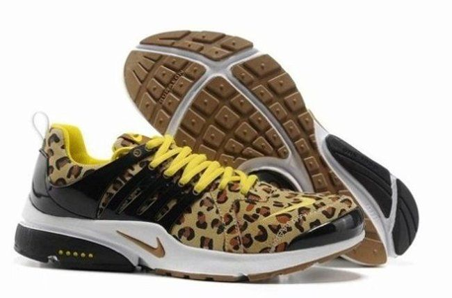 On Sale Discount Nike Air Presto Womens Shoes Leopard Brown White Black