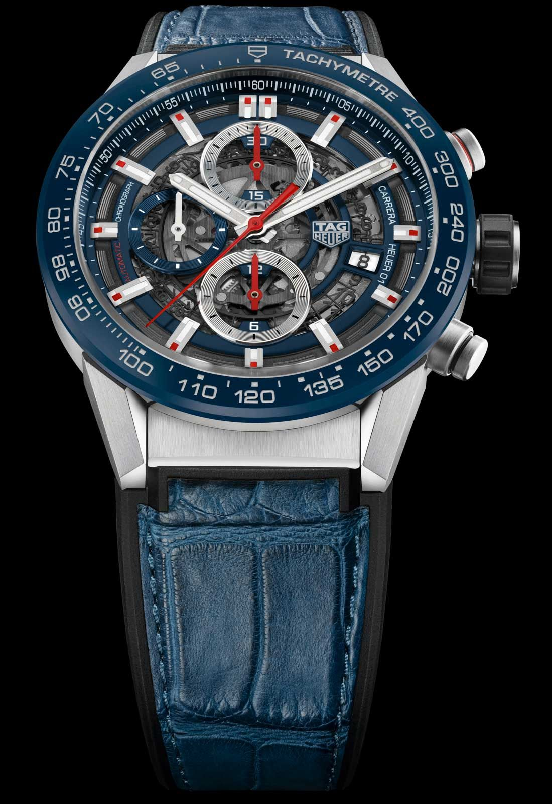 Federal Coronel complejidad  TAG Heuer Carrera Heuer-01 43mm Watches For 2017 | aBlogtoWatch | Tag heuer  carrera, Tag heuer, Tag heuer glasses