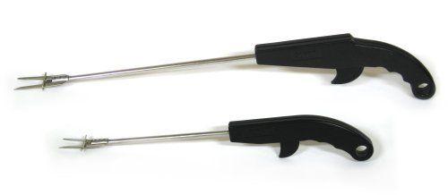 ForkPro Barbecue Fork, Combo Pack by ForkPro. $25.26. Easy to clean and dishwasher safe. Contoured ergonomic grip for comfort. High quality stainless Steel Fork. Easy to use trigger. Heat resistant plasic handle. ForkPro is for anyone who loves to cook.  The innovative trigger design makes cooking easier and safer than ever.   Simply pick-up the food by piercing it with ForkPro, and lightly pull the trigger to slide food right off.   The smooth and easy to use trigger allows you...