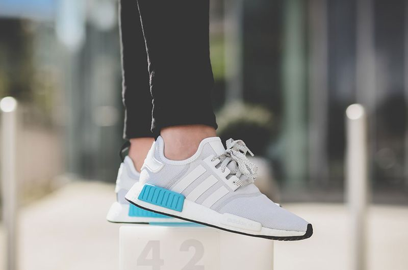bf01d719eb521 S80207 adidas NMD R1 Bright Cyan On Feet