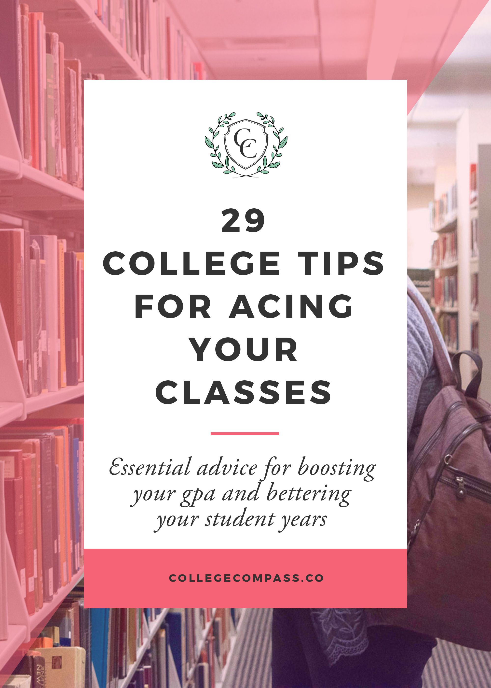 29 College Tips For Acing Your Classes