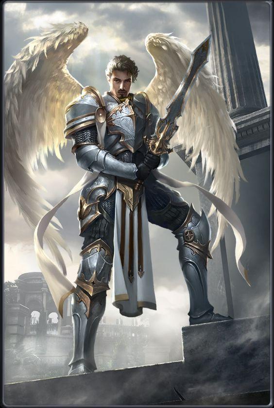 Photo of Dempsey, ein Engel der Wache. Er ist der älteste der Engel …