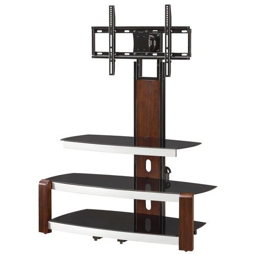 Whalen Furniture Plug Play Tv Console For Most Flat Panel Tvs Up To 47 Brown Proec41 Nv Whalen Furniture Flat Panel Tv Glass Shelf Supports