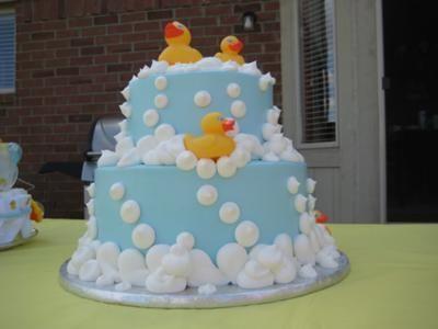 Nice Duck Baby Shower Cake Ideas