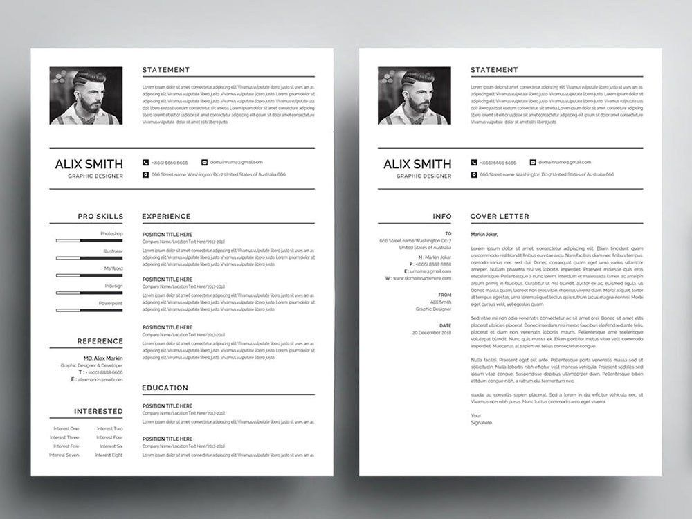 Free Graduate Student Resume Template Free Cv Template Word Free Resume Template Word Simple Resume Template