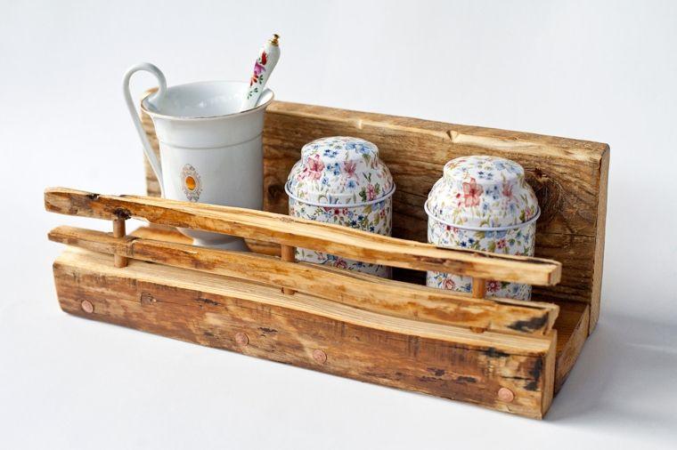 Credenza Con Tazze : Credenza provenzale legno massello noce anticato