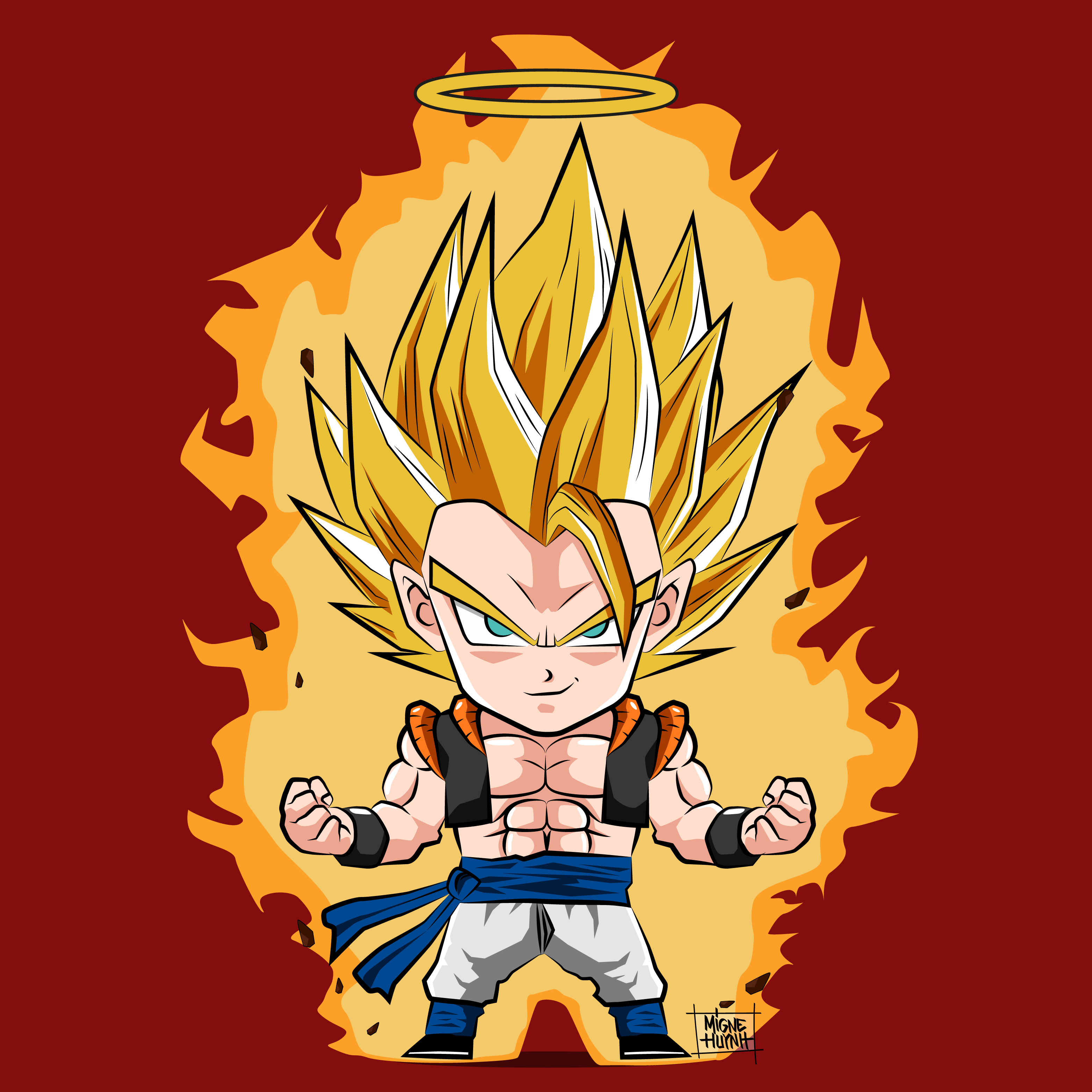 Dragon Ball Z #Gogeta #Fusion #Character | agdbf | Pinterest ...