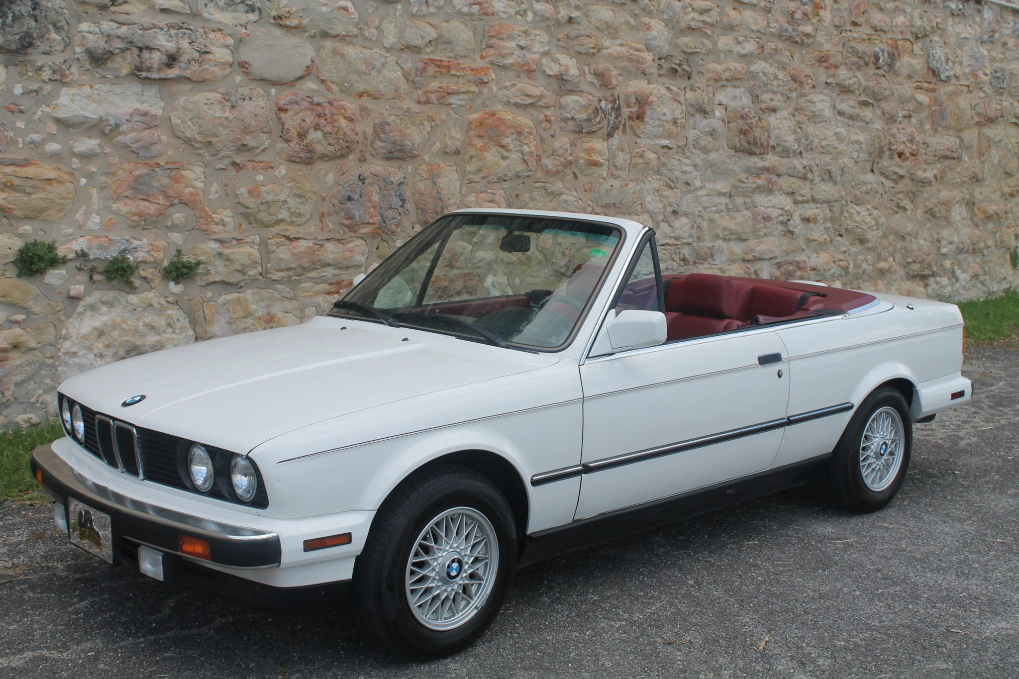 52k Mile 1990 Bmw 325i Convertible 5 Speed E30 Convertible Bmw