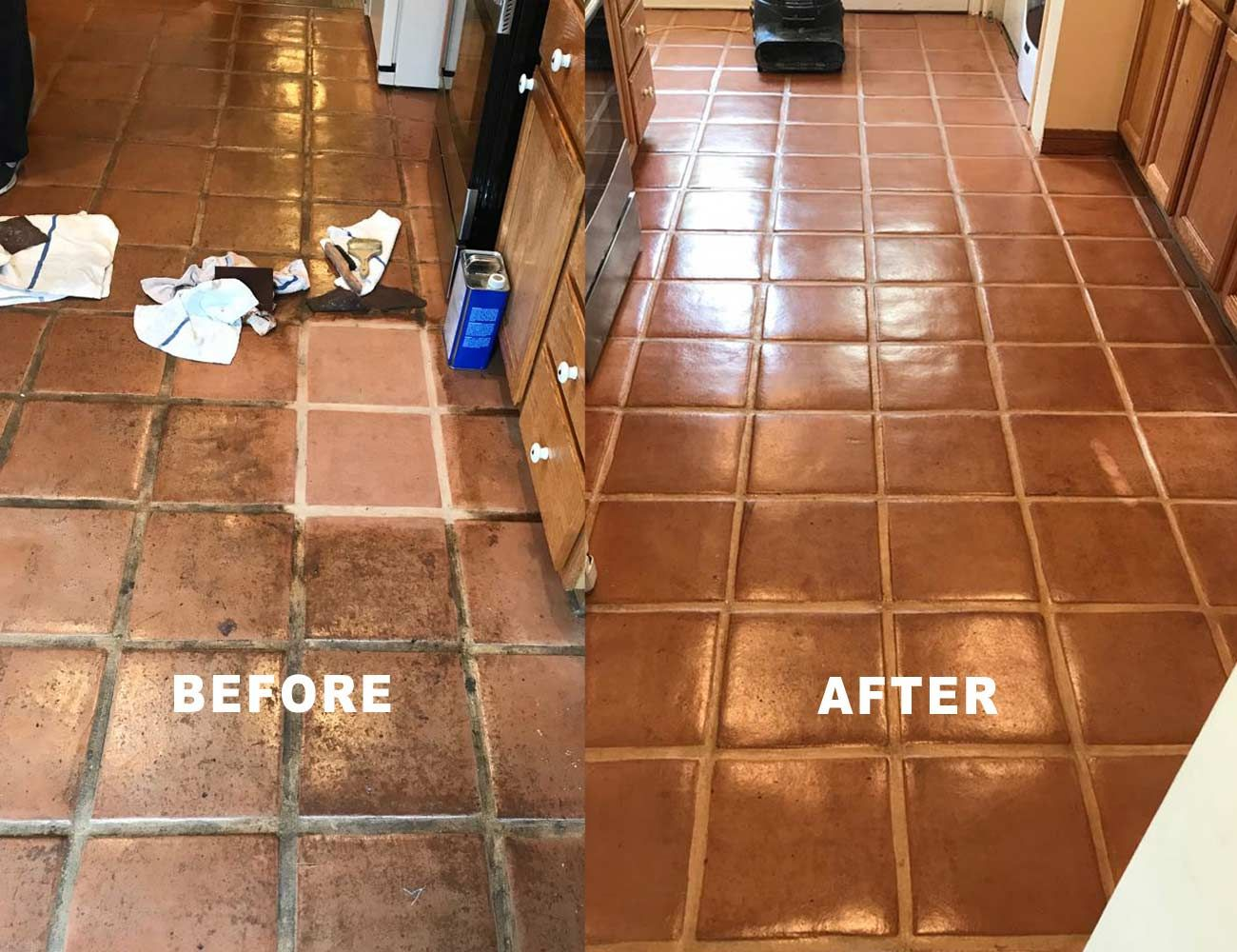 Saltillo Tile Restoration By Alex Stone