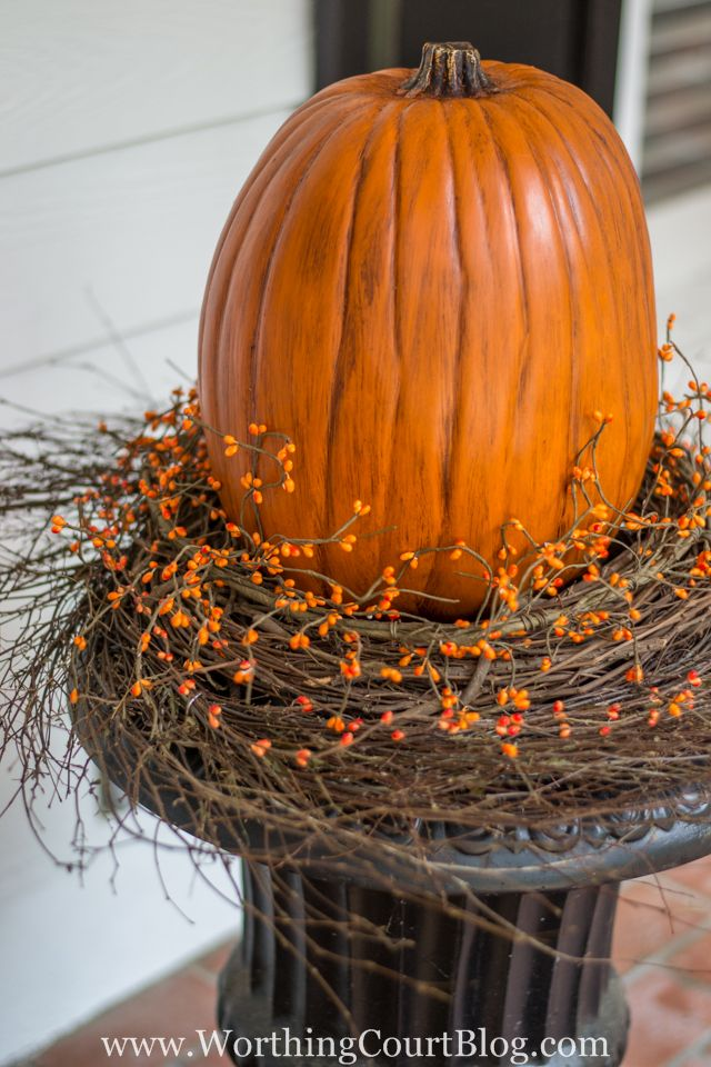 Halloween Urn Decorations How To Create A Beautiful Fall Planter The Fast And Easy Way  Urn