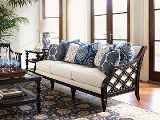 Tommy Bahama Royal Kahala Jadore Decor West Indies Island Style Furniture