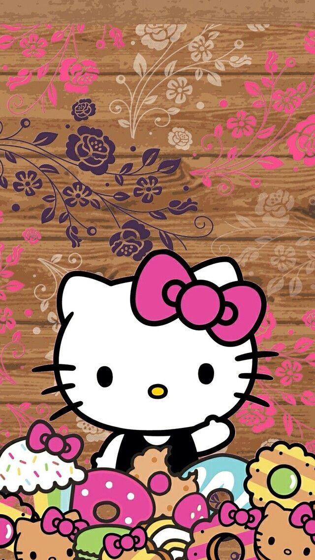 Cool Iphone Wall Hk Tjn Hello Kitty Wallpaper Hello Kitty Pictures Kitty Wallpaper