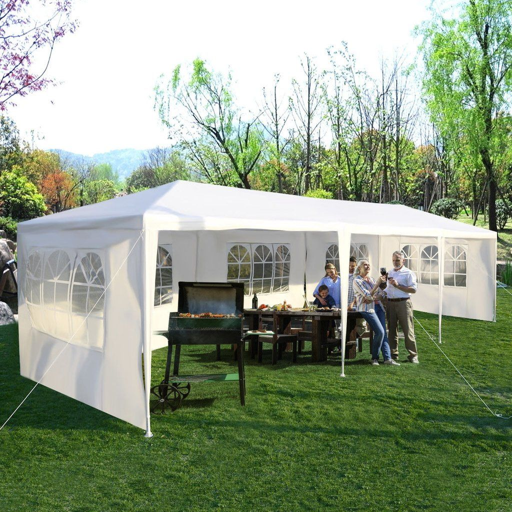 10 X 30 Outdoor Canopy Party Wedding Tent Unqfurniture Patio Tents Canopy Tent Outdoor Heavy Duty Gazebo