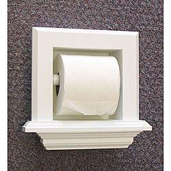 Bathroom Fixtures For Less Recessed Toilet Paper Holderdiy