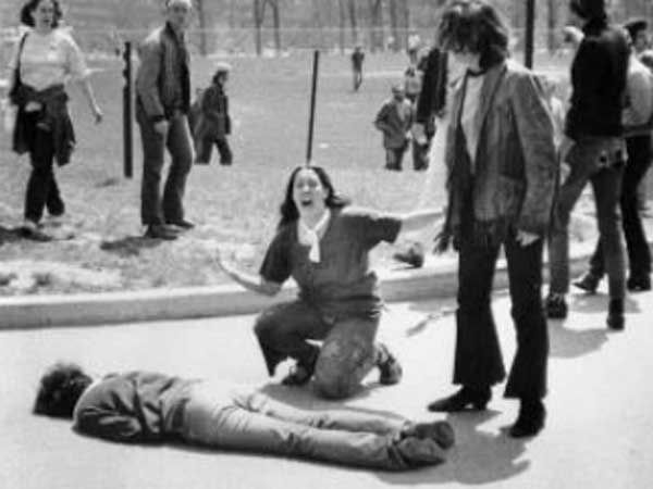 "My 285th post on Kent State."" Why the 1960s still matter.  Ohio - 4 Dead in Ohio (CSNY)"