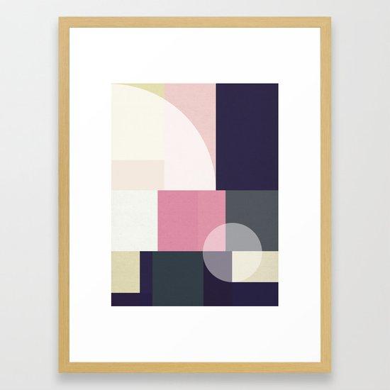 Balanced Geometry Sunrise Framed Art Print by domvariwords   Society6  #homedecor #framedart #artprint #walldecor #wallart #homeinspo #geometry #geometric #pattern #midcenturymodern #midmoddecor #retro #minimal #minimaldecor #minimalist #shapes #sunshine #sunrise #shapes #mutedcolours #blush #blue #green #texture #stylish #urban #Dominiquevari #society6