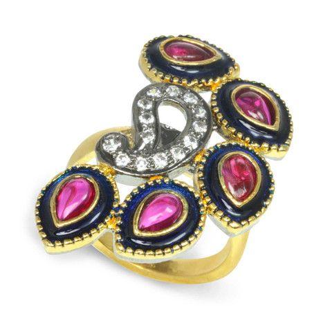 Floral Fan Ring - Rosena Sammi Jewelry