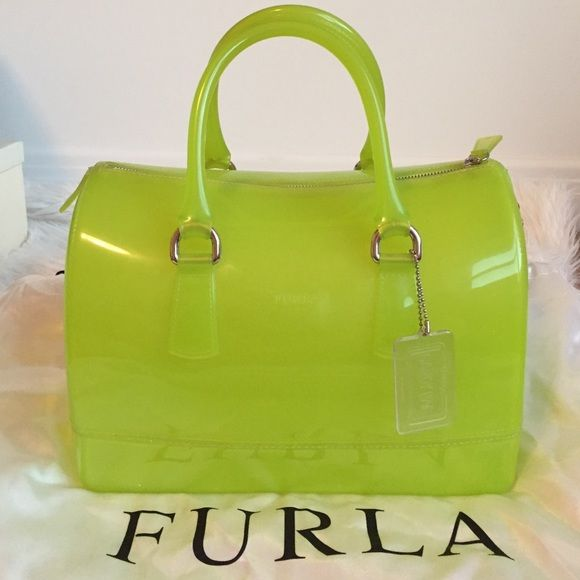 Ing This Furla Candy Bag In Bright Green My Poshmark Closet Username Is Iloveken Mycloset Fashion Ping Style For