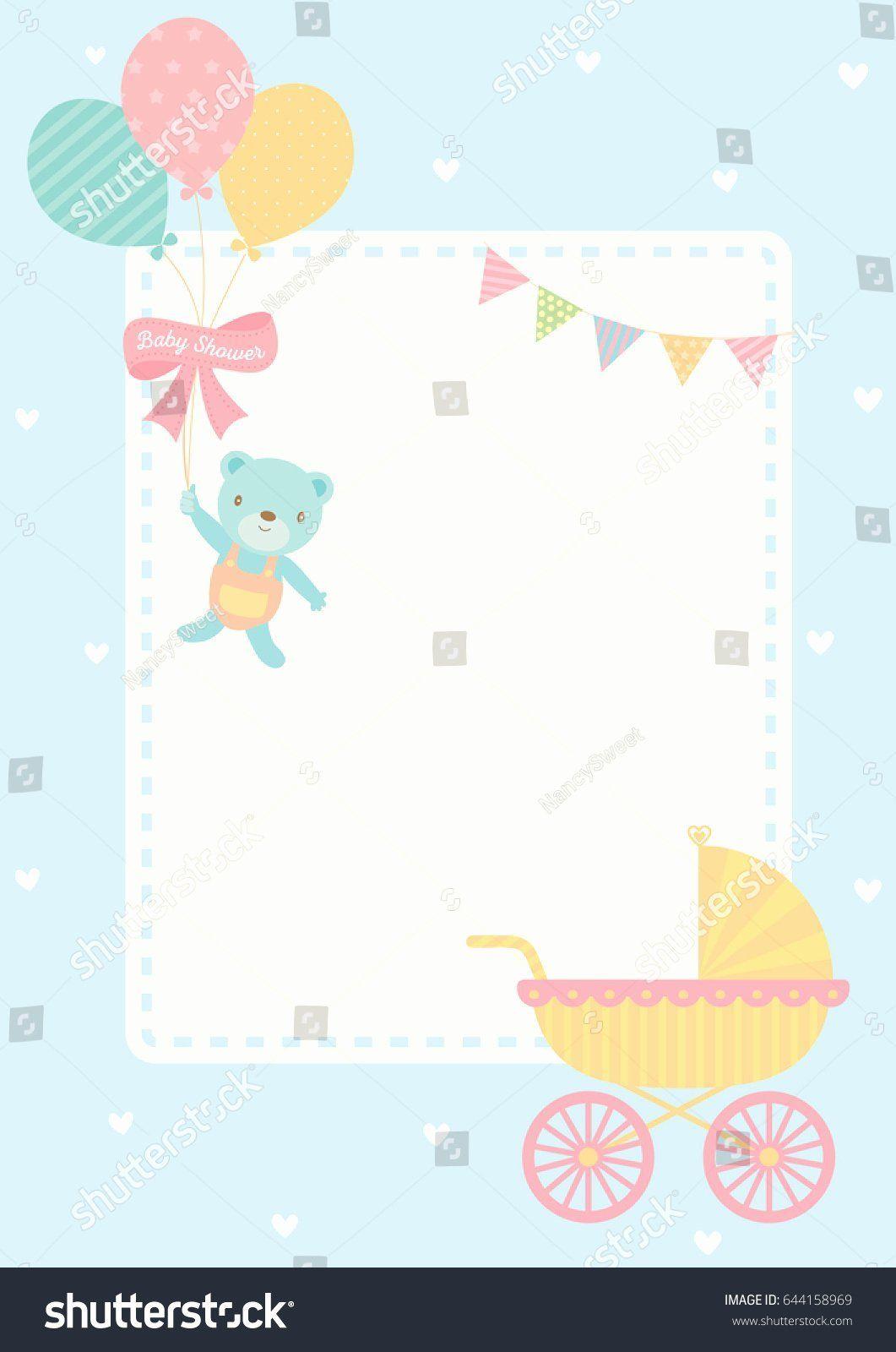 Bridal Shower Card Messages Elegant Baby Shower Greeting Card Template Teriz Yasamayolver Baby Shower Card Message Bridal Shower Cards Baby Birthday Card